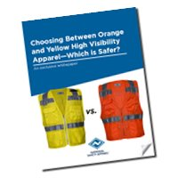 Download our white paper on choosing orange or yellow hi-vis FR gear